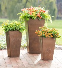 Large Sussex Frost-Proof Resin Planter - Walmart.com