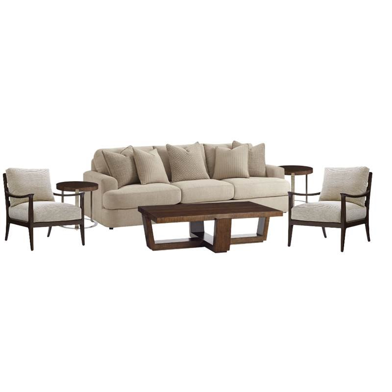 living room sets with accent chairs simple wooden furniture designs for 2 6 piece set sofa of coffee table and end tables in mocha ivory walmart com