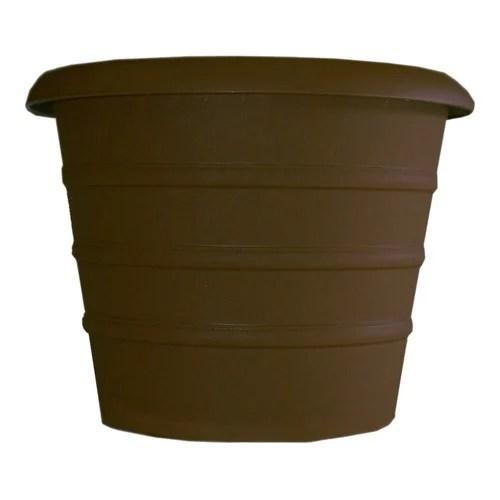 Akro-Mils Lawn & Garden Marina Plastic Pot Planter (Set of 4)