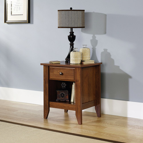 Sauder Shoal Creek Collection Nightstand Oiled Oak