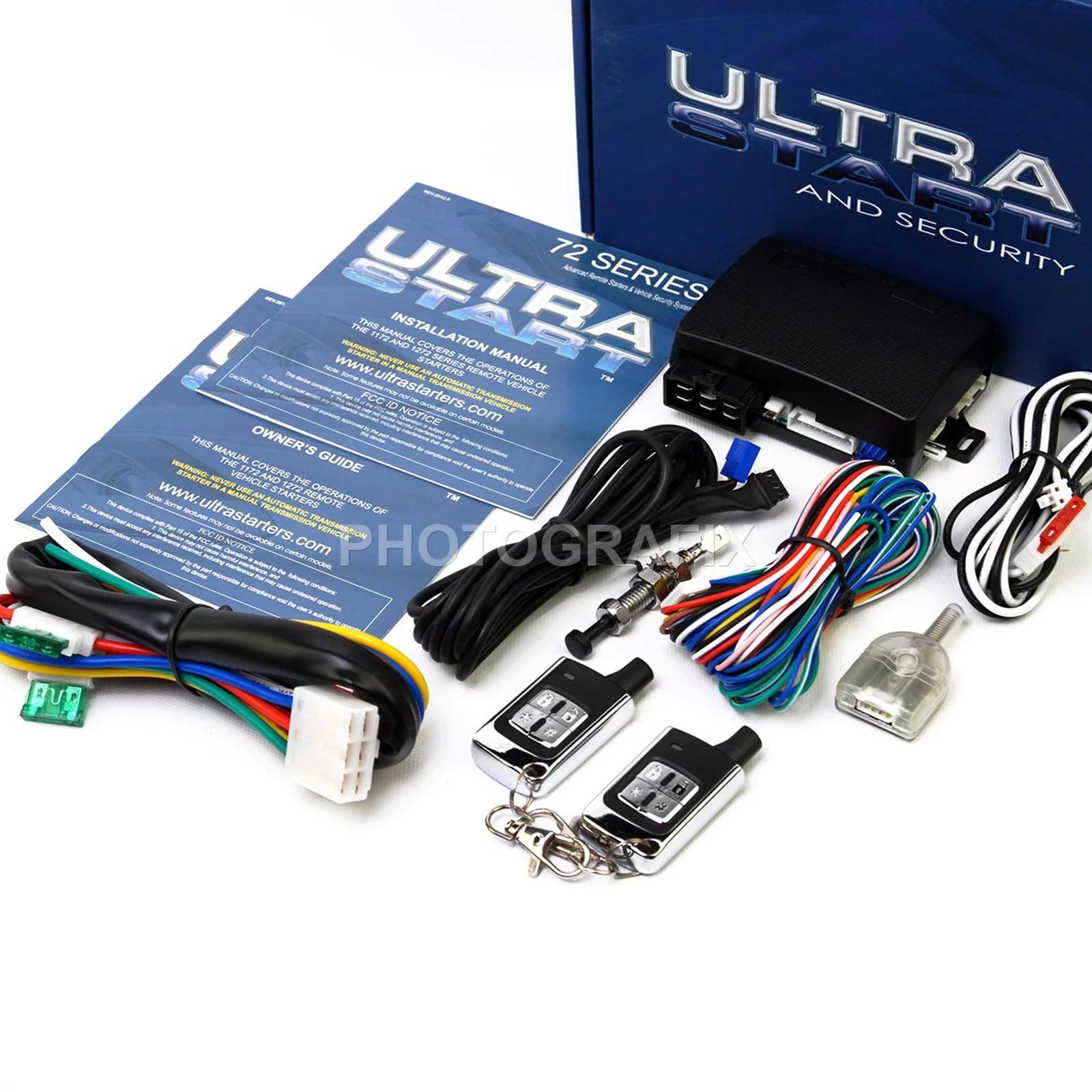 medium resolution of ultra start 1272 xr pro keyless auto remote car start starter diagrams start wiring remote oltrastart