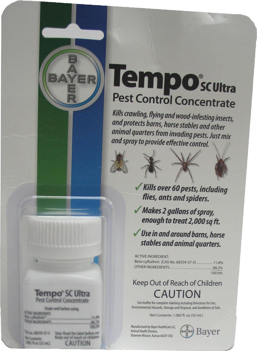 TEMPO SC ULTRA PEST CONTROL CONCENTRATE - Walmart.com