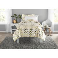 Mainstays Gold Dot Bed in a Bag Comforter Set - Walmart.com