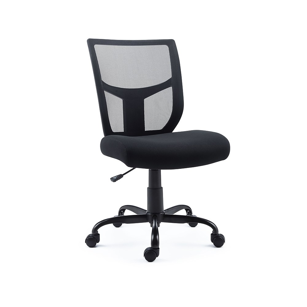 Staples Task Chair Staples Black Mesh And Fabric Task Chair 2715724