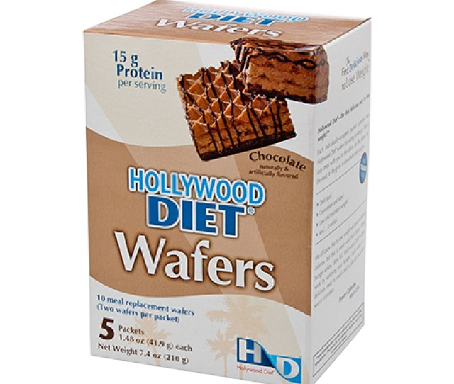 Hollywood Diet Wafers Chocolate  Boxes