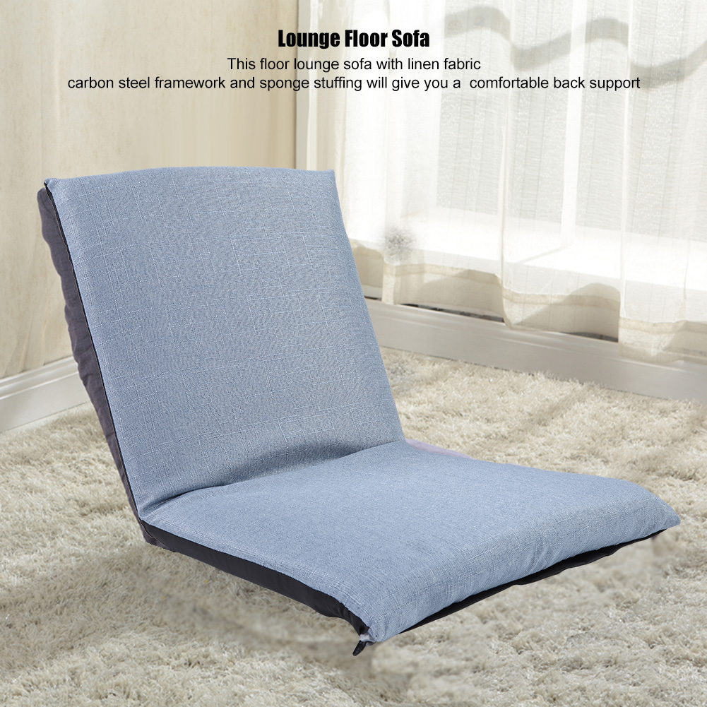 Floor Lounge Chair Walfront Folding Floor Gaming Lounge Sofa Chair 6 Positions Adjustable Couch For Bedroom Living Room Floor Sofa Chair Floor Couch