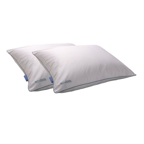 Isotonic IsoCool Polyester Bed Pillow Queen  Walmartcom