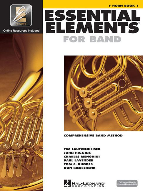Essential Elements for Band – F Horn Book 1 with Eei (Paperback)