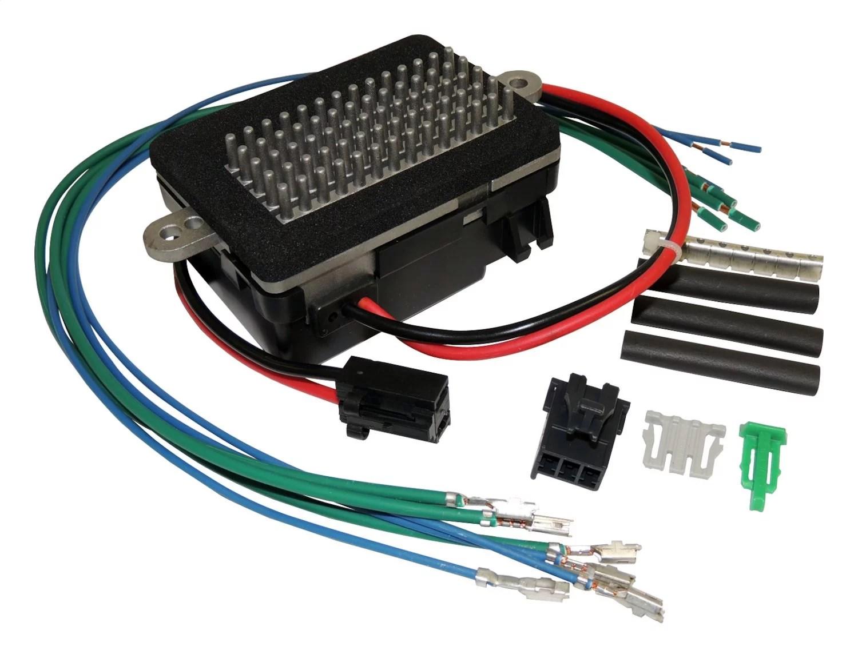 hight resolution of crown automotive jeep replacement 5012699k heater fan motor resistor kit walmart canada
