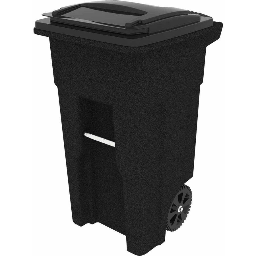 Toter 32 Gallon 2Wheel Trash Can Cart Blackstone