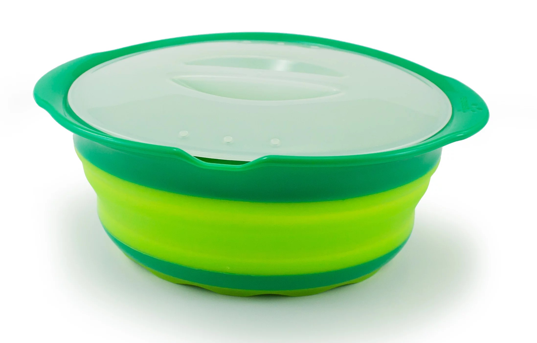 squish 1 25 quart collapsible microwave steamer