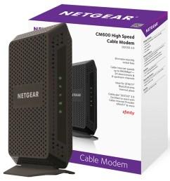 netgear cm600 24x8 cable modem no wifi docsis 3 0 certified for xfinity by comcast spectrum cox more cm600 100nas walmart com [ 2500 x 2700 Pixel ]
