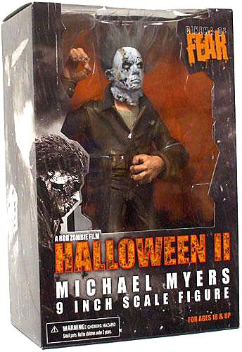 Cinema Of Fear Michael Myers Action Figure Halloween Ii Walmart Com Walmart Com