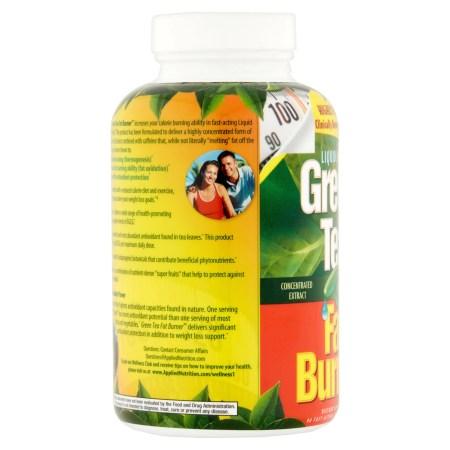 التغذية التطبيقية الخضراء الشاي الأخضر الدهون الموقد حبوب لتخفيف الوزن ، سريع اللدغة السائلة الناعمة ، 90 Ct التغذية التطبيقية الخضراء الشاي الأخضر الدهون الموقد حبوب لتخفيف الوزن ، سريع اللدغة السائلة الناعمة ، 90 Ct 172ce4a9 8aad 4e9f af78 29a8269d8fd6 1