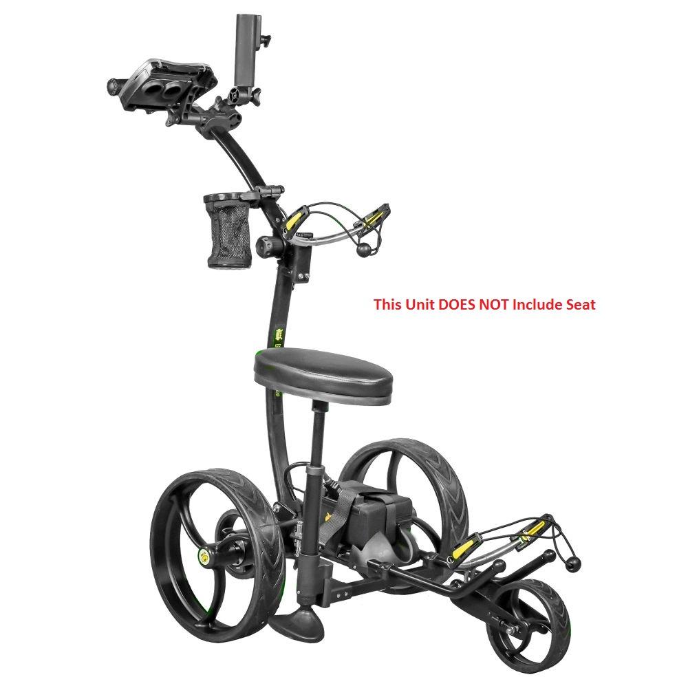 Bat Caddy X8 Pro Manual Electric Golf Bag Cart Black w