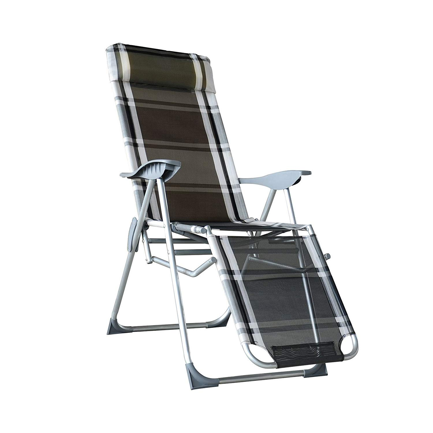 Zero Gravity Chair Recliner Orno Ttobe Zero Gravity Lounge Chair Recliners For Patio Pool Adjustable