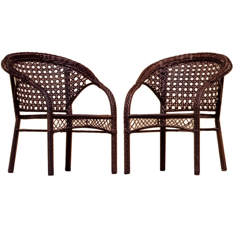 Wicker Brown Outdoor Chairs  Walmartcom