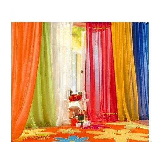 120 inch extra long voile 54 wide window sheer curtain panel pure white