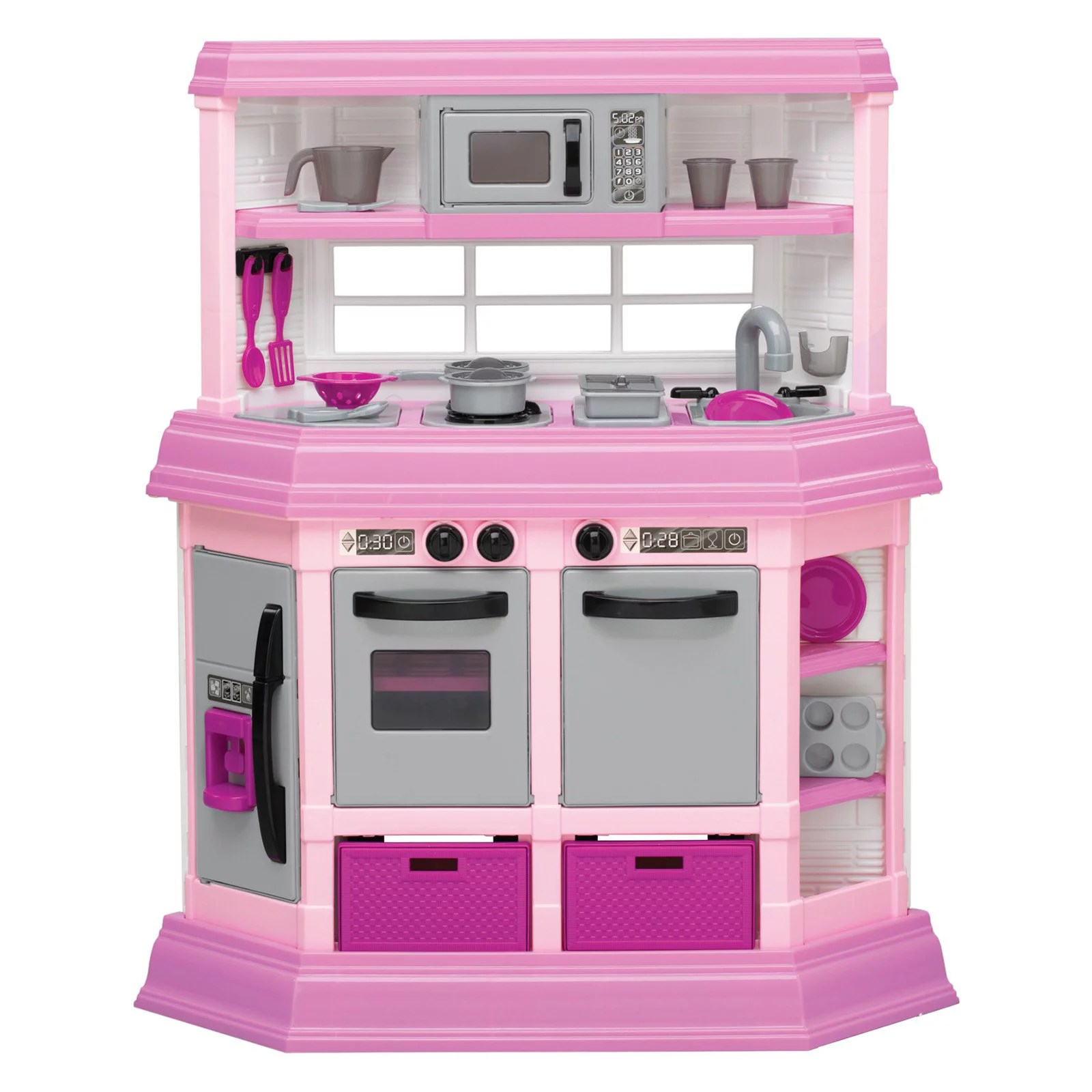 toy kitchens used kitchen cabinets craigslist for girls stove play toddler set kids accessories children playset