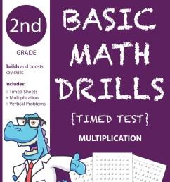 2nd Grade Basic Math Drills Timed Test : Builds and Boosts Key Skills  Including Math Drills and Vertical Multiplication Problem Worksheets . (SPI  Math Workbooks) (Volume 4) - Walmart.com - Walmart.com [ 1360 x 1051 Pixel ]