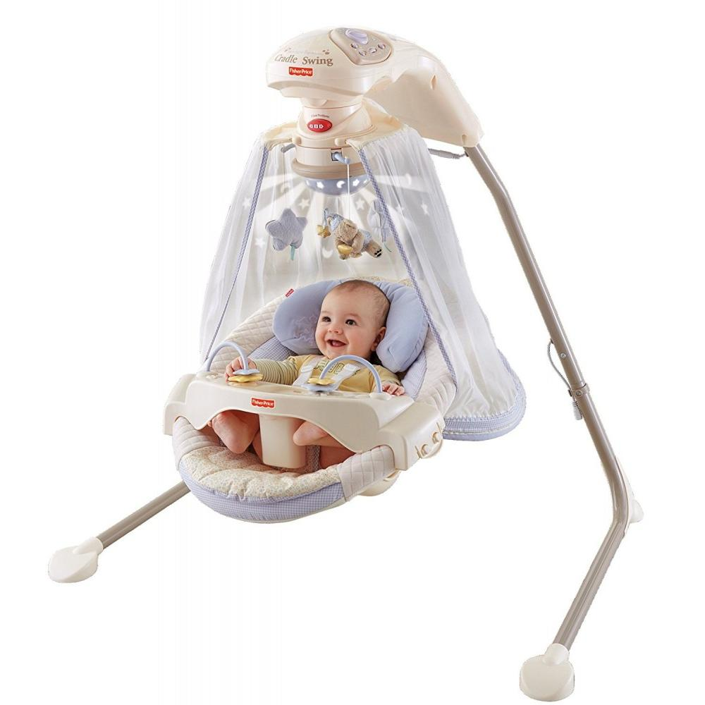 outdoor baby portable high chair tent and rentals fisher-price starlight papasan cradle swing - walmart.com