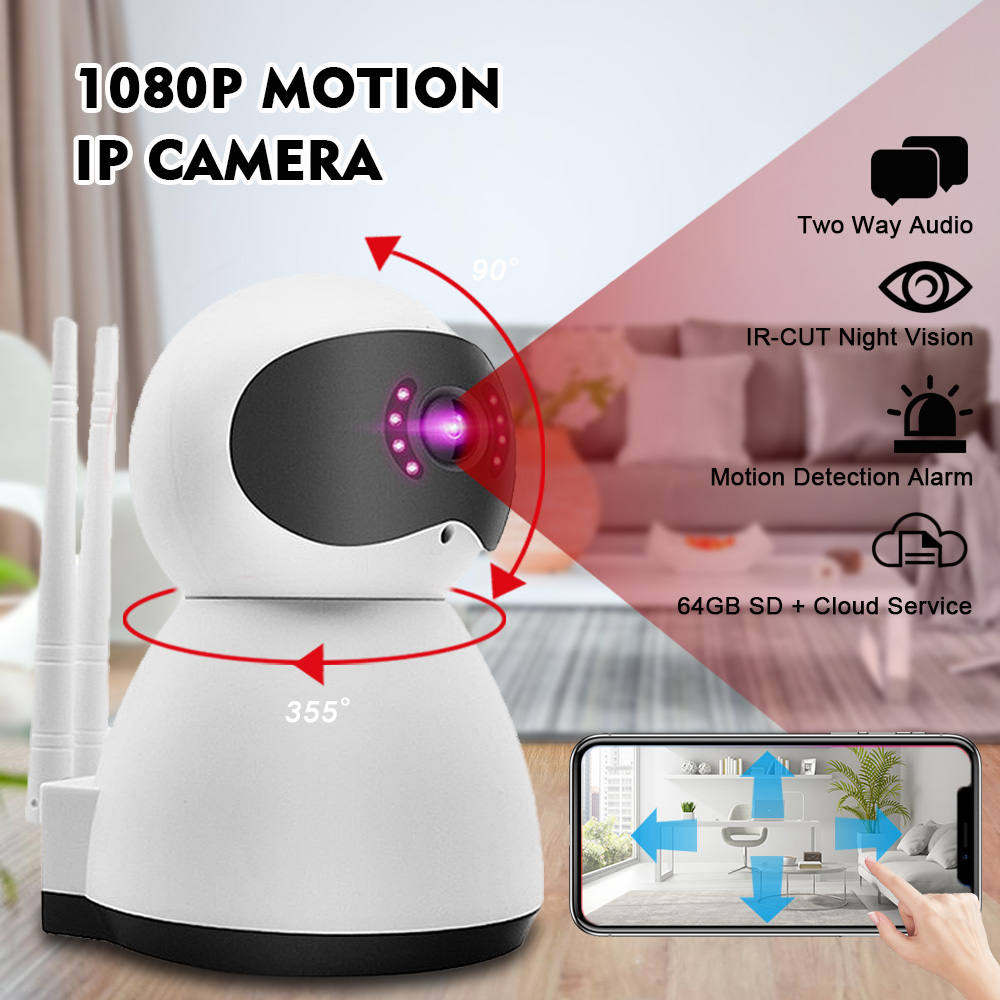 medium resolution of security ip camera digoo 1080p home wireless smart wifi audio cctv camera night vision two way audio app remote wireless surveillance walmart com