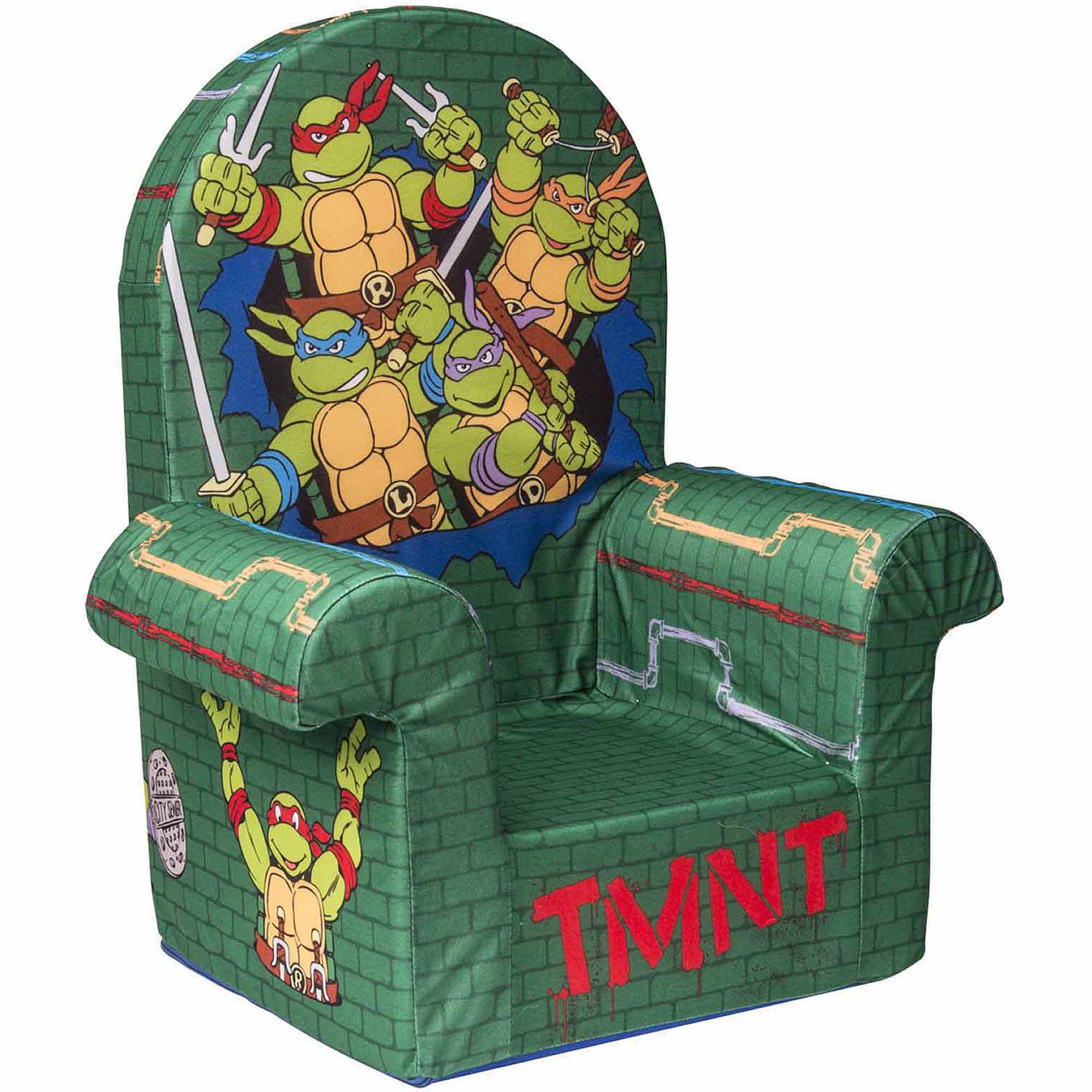 ninja turtles chair kohls cushions marshmallow furniture high back nickelodeon s teenage mutant departments