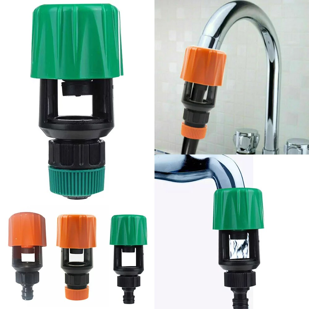 water faucet adapter tap connector kitchen garden hose pipe fitting suitable for faucets a diameter within 3mm flat taps