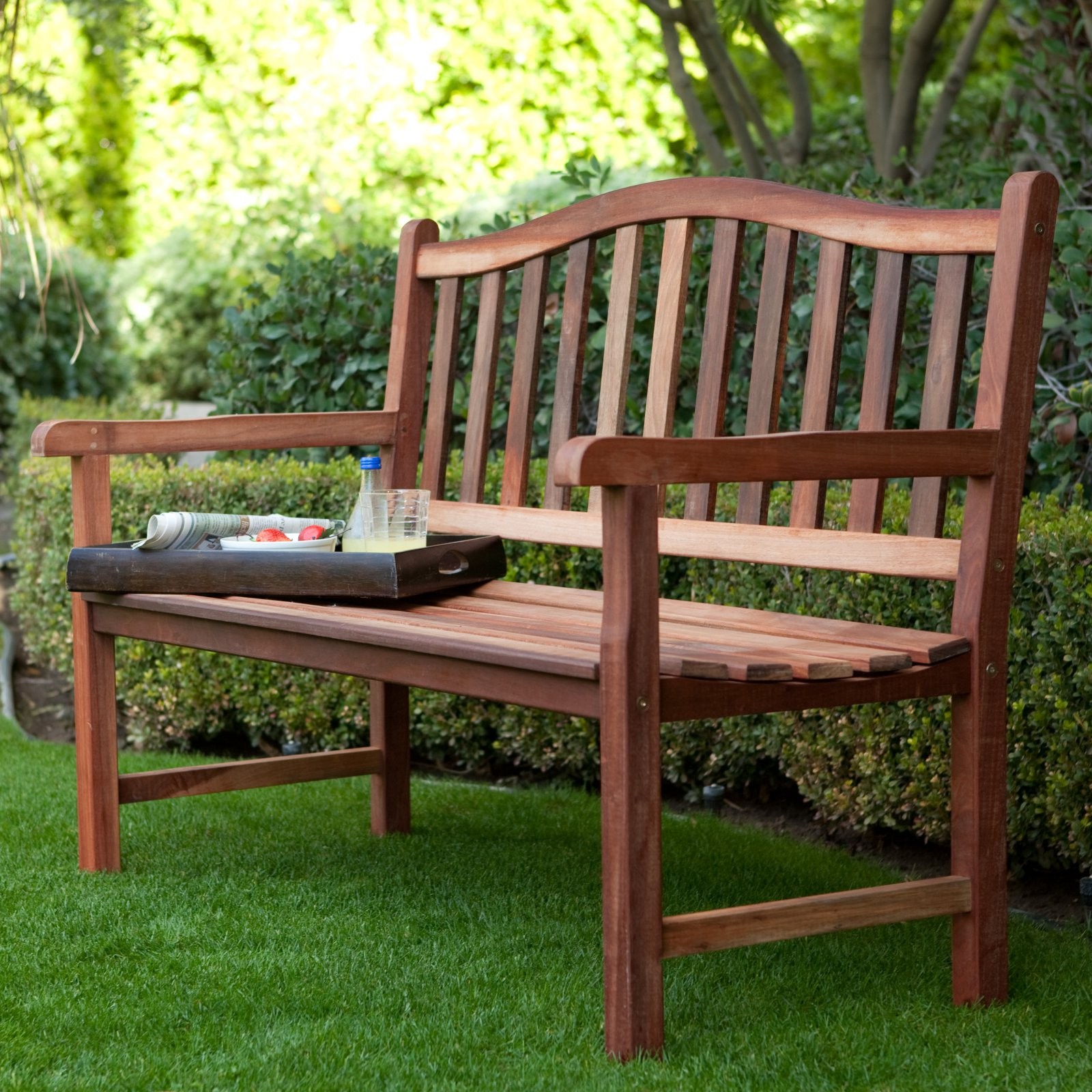 Sturdy Outdoor Bench