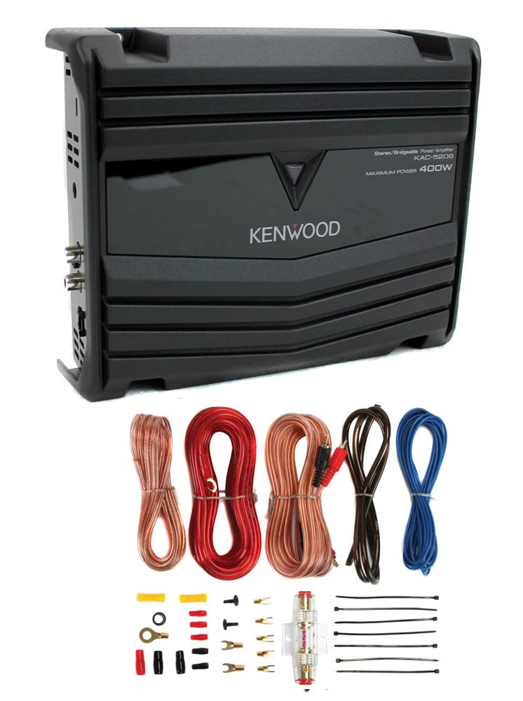 Walmart Car Audio Amps : walmart, audio, Kenwood, KAC-5206, 2-Channel, Class, Audio, Amplifier, Gauge, Walmart.com