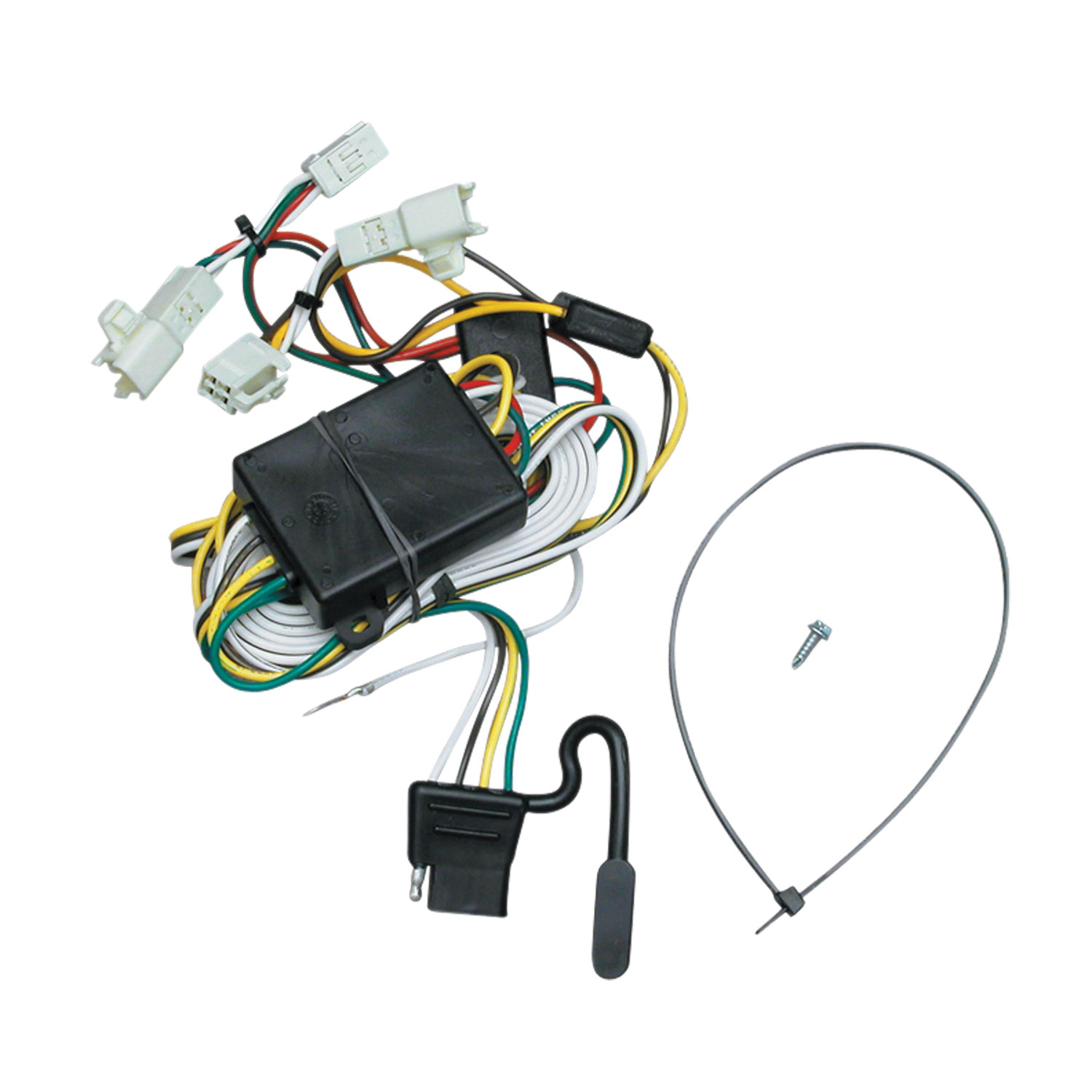 medium resolution of tekonsha 118341 trailer wiring connector t one 4 way flat replacement for oem wiring harness
