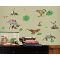 RoomMates Dinosaur Peel & Stick Wall Decals - Walmart.com