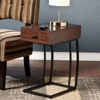 Pennock Powered USB Side Table - Walmart.com