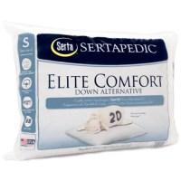 Sertapedic Standart Size Elite Comfort Down Alternative ...