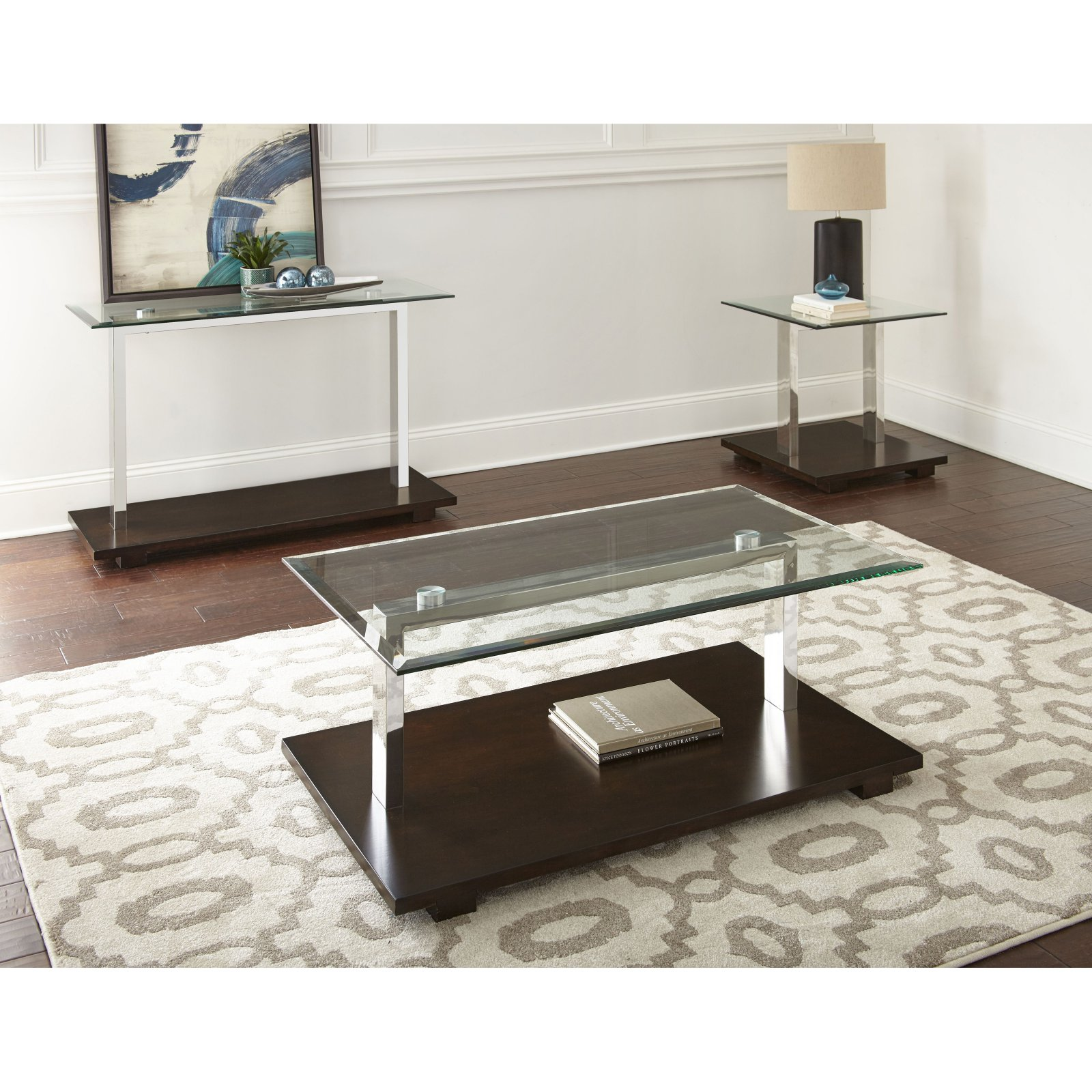 how to make a sofa table top electric blue leather steve silver kessy walmart com