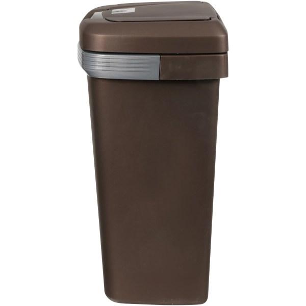 13-gallon Premium Touch Lid Kitchen Waste Basket Garbage Plastic Bin Trash
