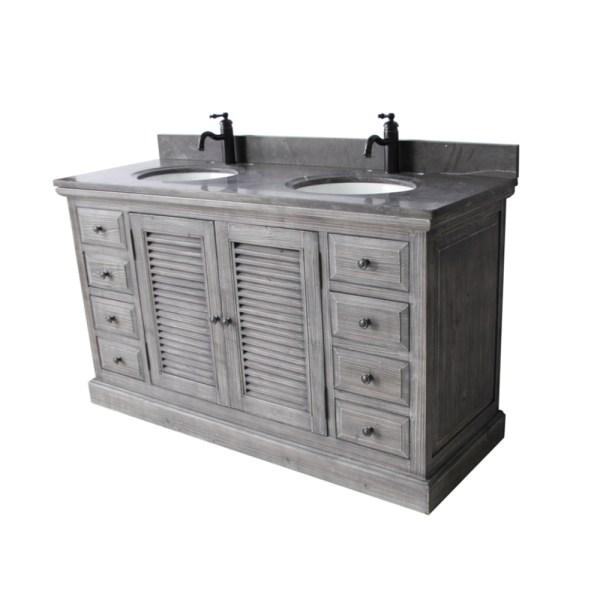 Rustic Style 61- Bathroom Vanity