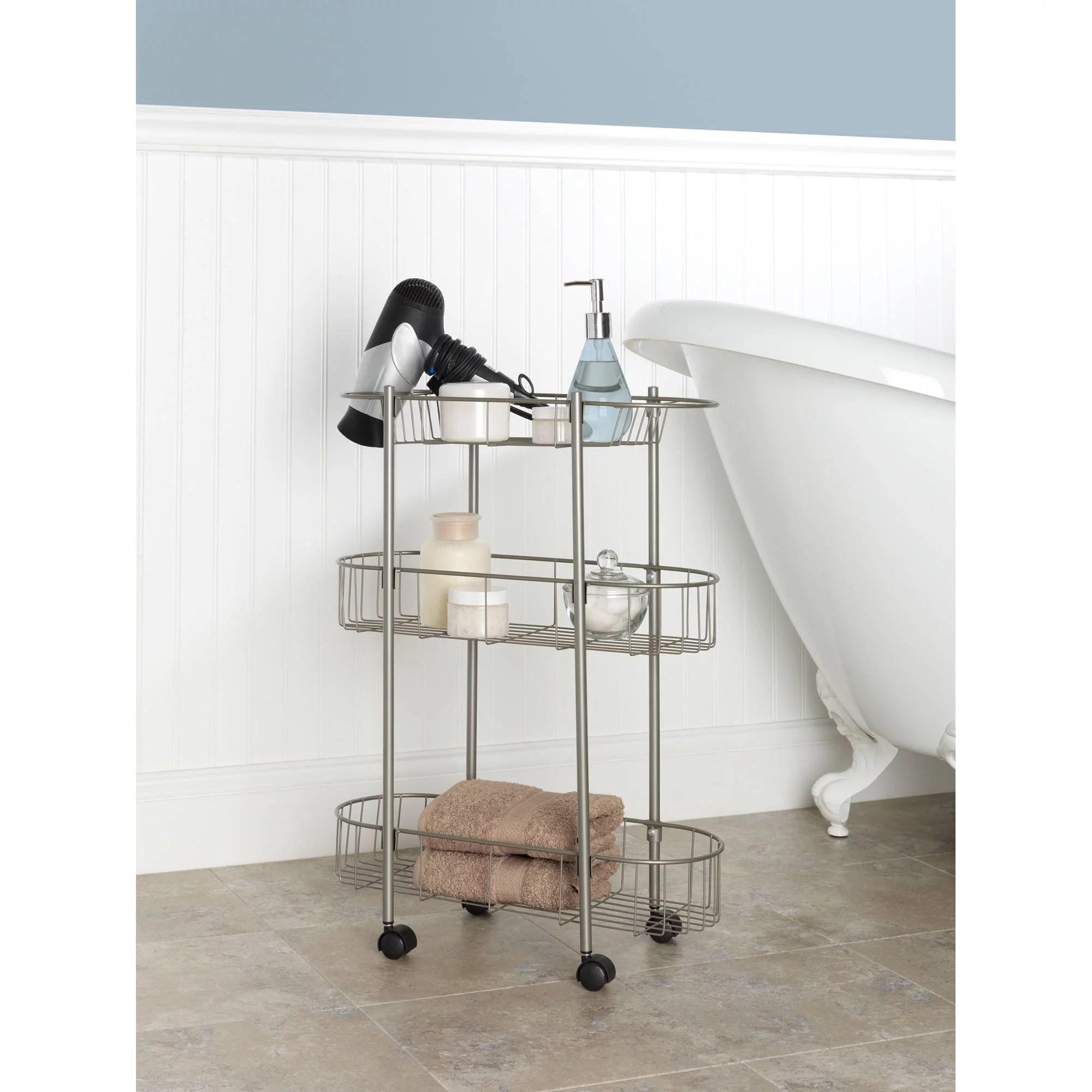 Chapter Rolling Bathroom Cart  Walmartcom