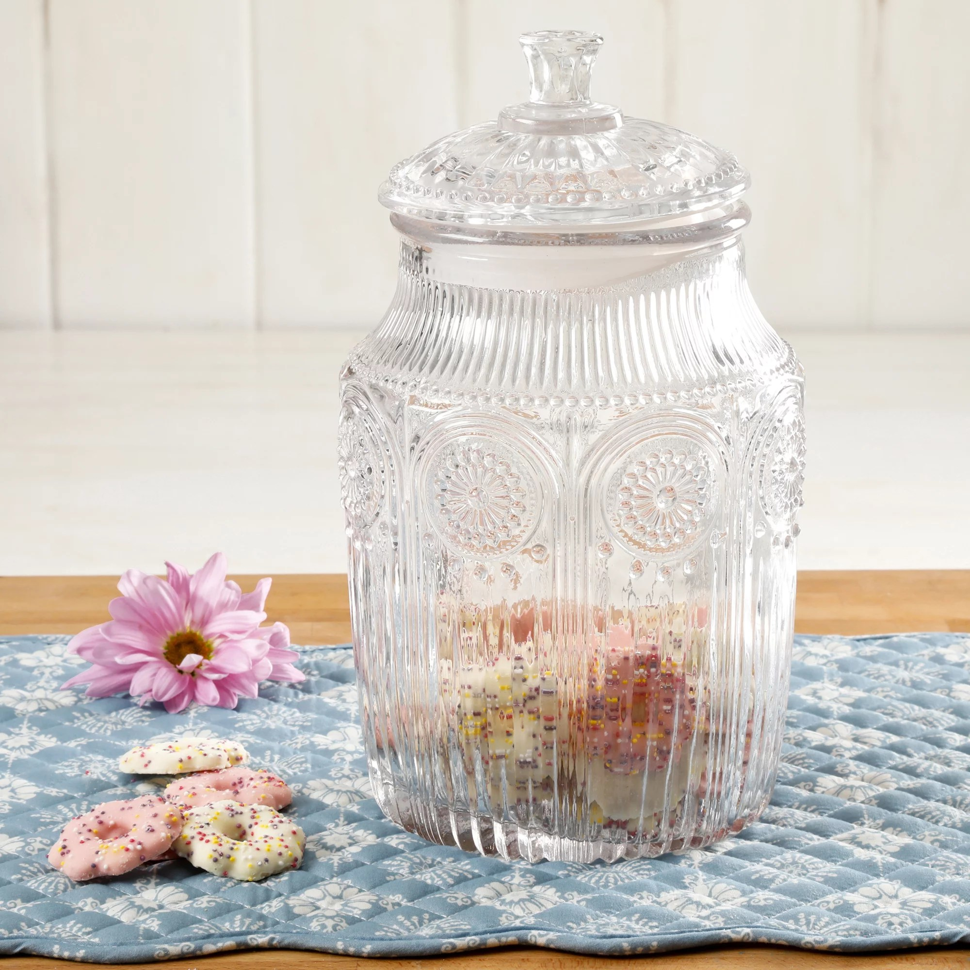 The Pioneer Woman Adeline Glass Canister Multiple Colors