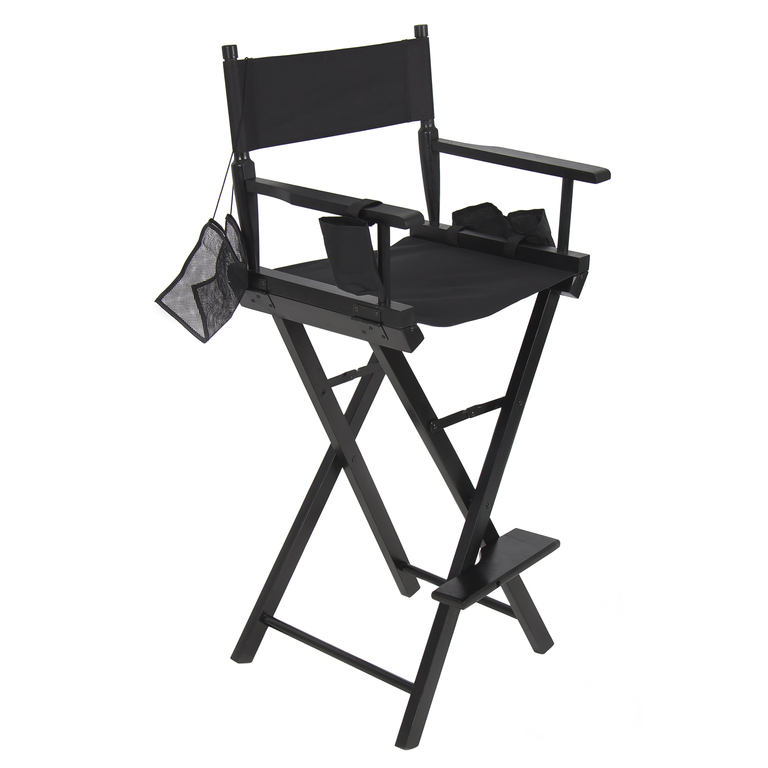 personalized makeup artist chair cheap covers walmart best choice products foldable lightweight professional directors black