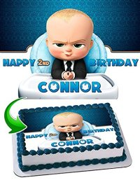 Boss Baby Cake Edible Image Cake Topper Personalized ...