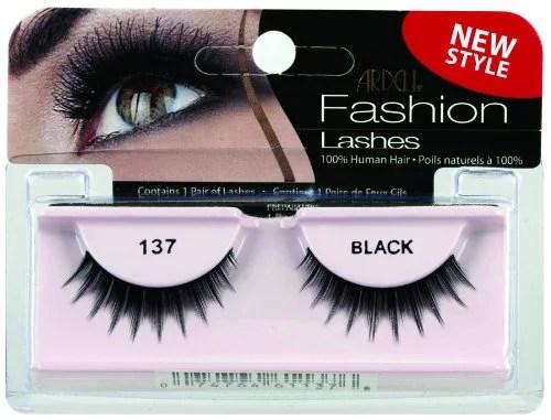 Ardell Fashion Lashes False Eyelashes  137 Black Pack