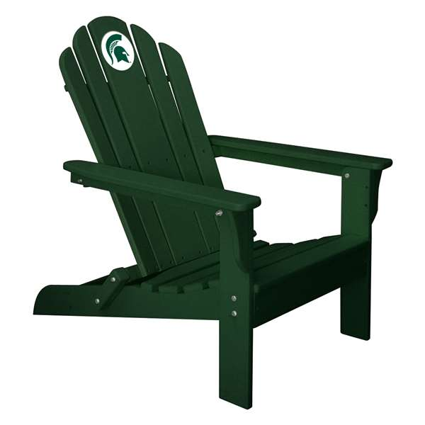 michigan adirondack chair sit and play state green spartans walmart com