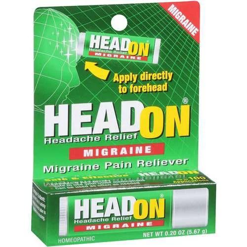 headon headache migraine pain