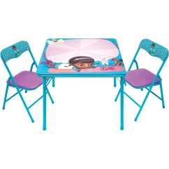 Doc Mcstuffin Chair Cover Recliner Pad Headrest Furniture Protector Mcstuffins Pet Vet Erasable Activity Table Set With 3 Markers Walmart Com