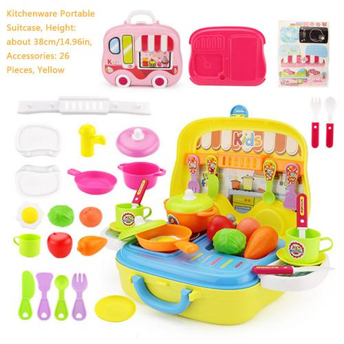 Clearance 26 Pcs Role Play Kitchen Playset Toy Kids