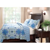 Global Trends? Chelsea Blue Quilt Set