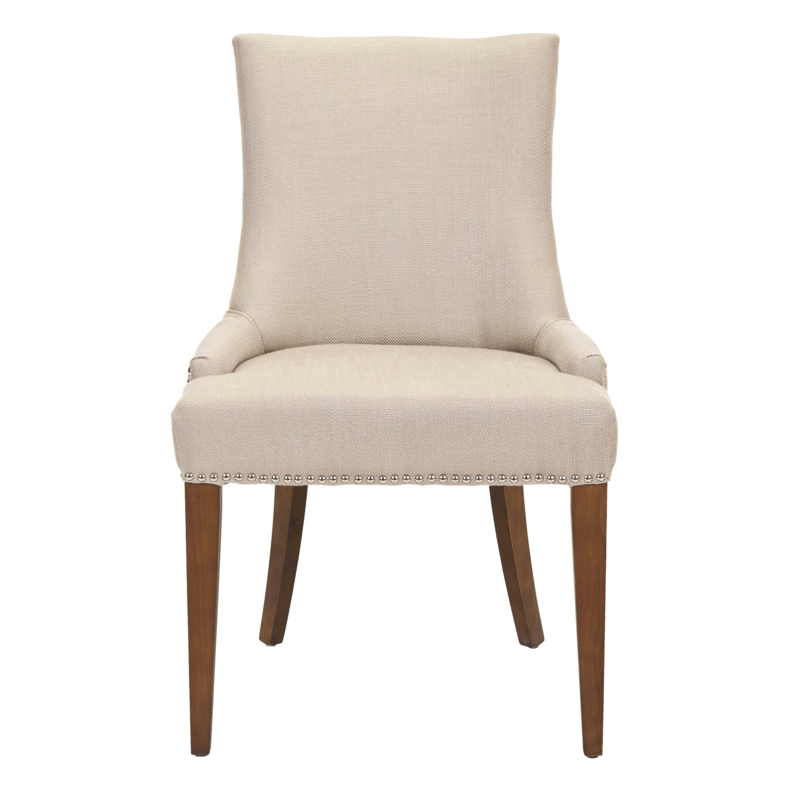 safavieh dining chairs second hand massage for sale alexia fabric chair walnut legs walmart com