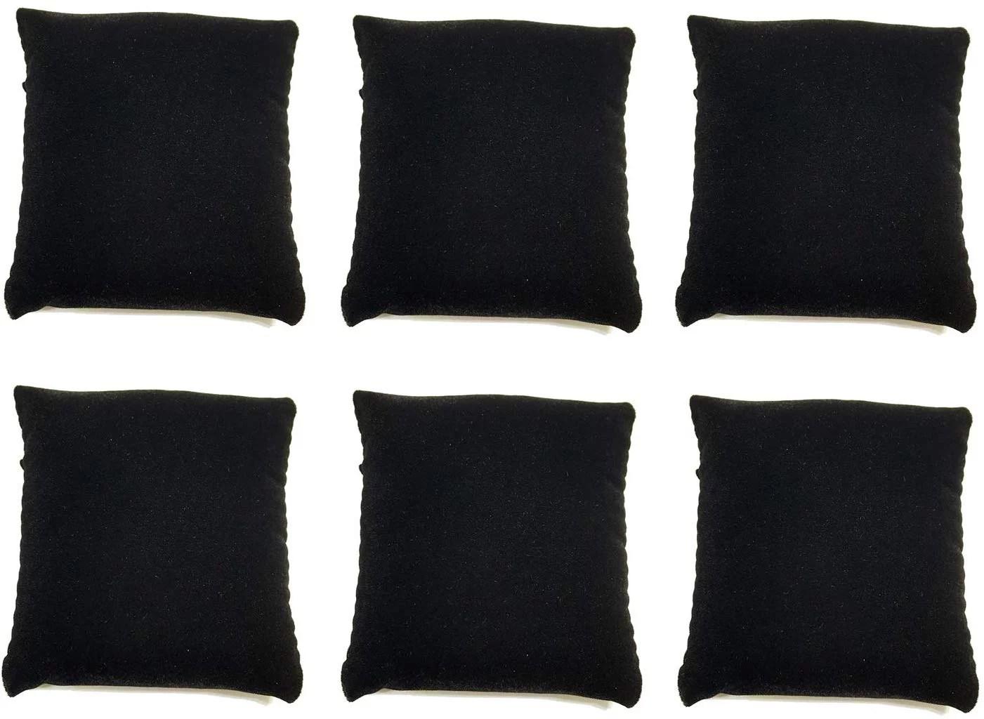 mooca small bracelet watch pillow black velvet jewelry displays jewelry pillow velvet small watch pillows velvet bracelet pillow set 3 w x 3 d