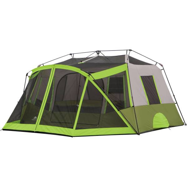 Ozark Trail 9 Person 2 Room Instant Cabin Tent With Screen 817427012345